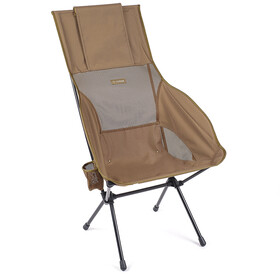 Helinox Savanna Chaise, coyote tan/black